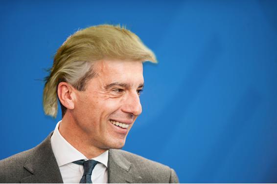 Trump neue frisur