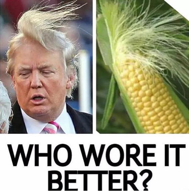 Osterreicht Tragt Donald Trumps Frisur Woman At