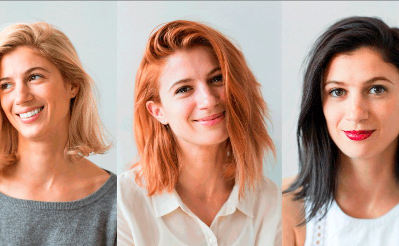 test 5 haarfarben in 7 wochen woman at. Black Bedroom Furniture Sets. Home Design Ideas