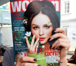Woman green - Oktober 2016 Smoothie