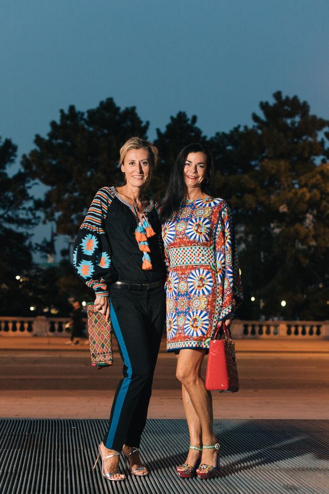 Milene Platzer Und Waltraud Pecik Woman At