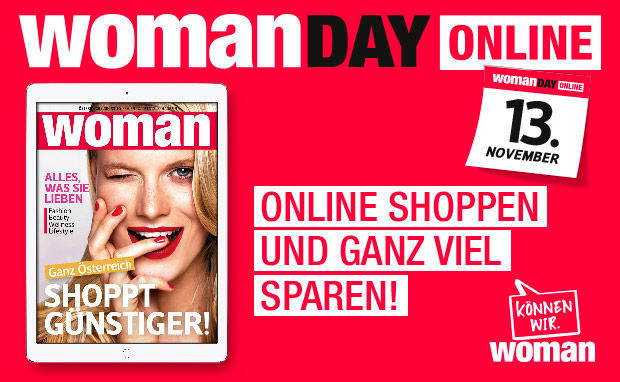 SAVE THE DATE: WOMAN DAY ONLINE!