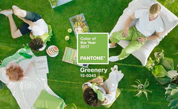 Das Wird Die Pantone-Farbe Des Jahres 2017: Greenery