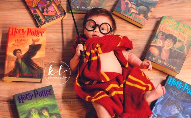 harry potter, baby, shooting