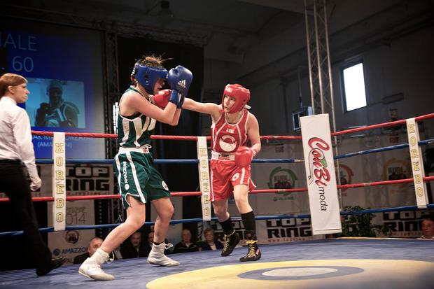 Melanie Fraunschiel Boxerin