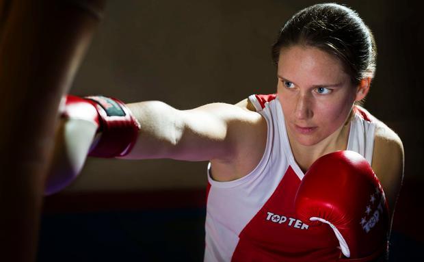 Melanie Fraunschiel - vegane Boxerin