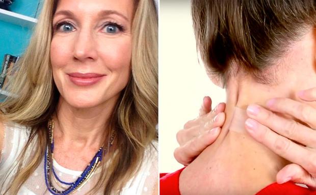 wie man Halsfalten reduziert