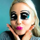 Anime Make up Fasching schminken