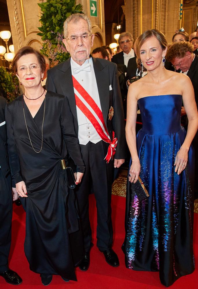 Doris Schmidinger Bundesprasident Alexander Van Der Bellen Und