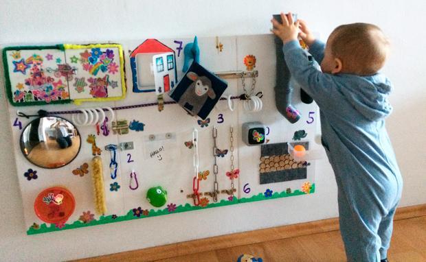 Die perfekte Beschäftigung für Kleinkinder: BusyBoards selbermachen