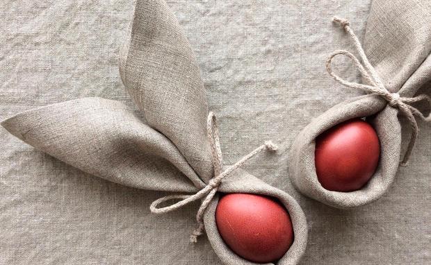 Osterhasen Aus Servietten Falten ostern servietten falten mit anleitung at