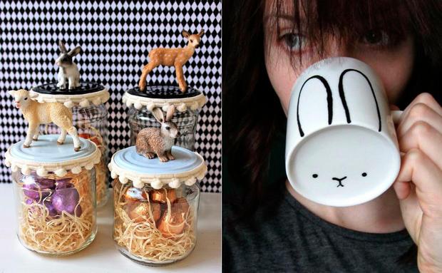 DIY: Einfache Bastel-Ideen für Ostern • WOMAN.AT