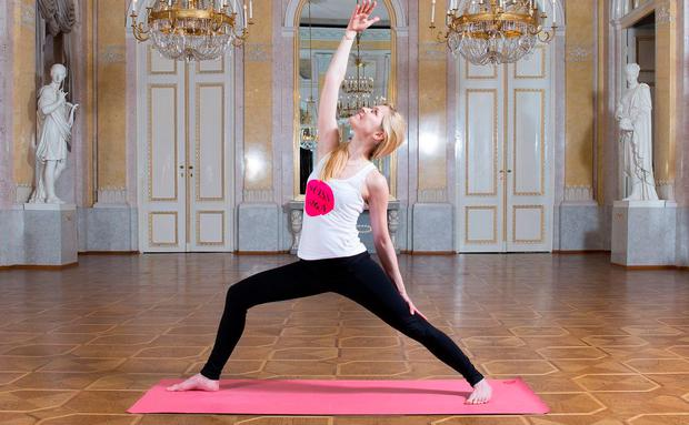 Yoga in der Albertina