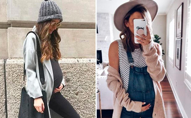 Schwangerschaft Coole Looks Outfit Ideen Woman At