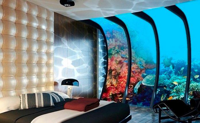 Trend wir wollen in diese unterwasser hotels woman at for Hoteles bajo el agua espana
