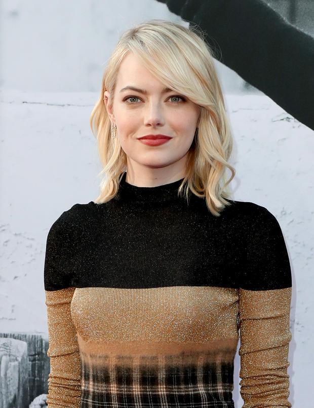 Emma Stone Hat Eine Neue Sommer Haarfarbe Womanat