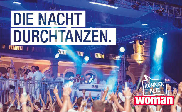 Mit WOMAN zu den WHITE NIGHTS!