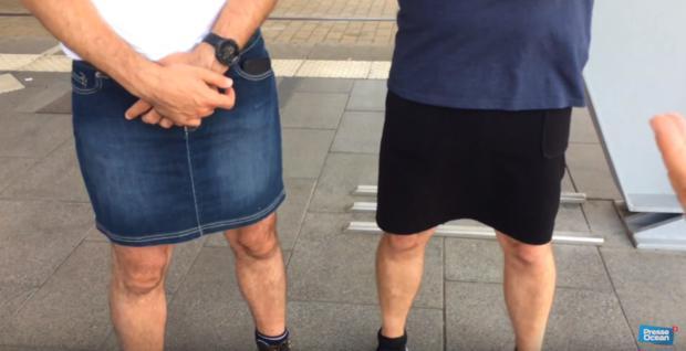 Im Rock zur Arbeit: Busfahrer pfeifen aus Dresscode