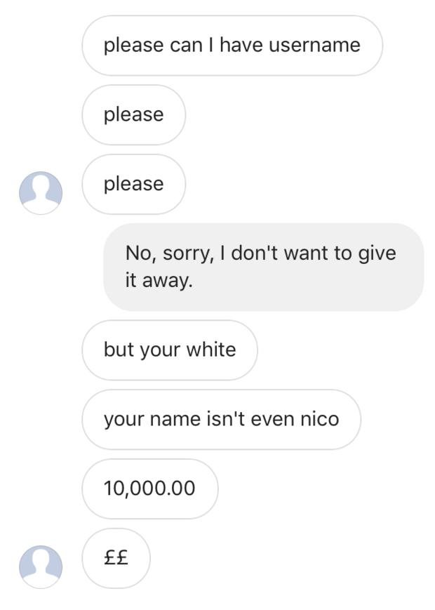 @nico - Can I have your Instagram Name