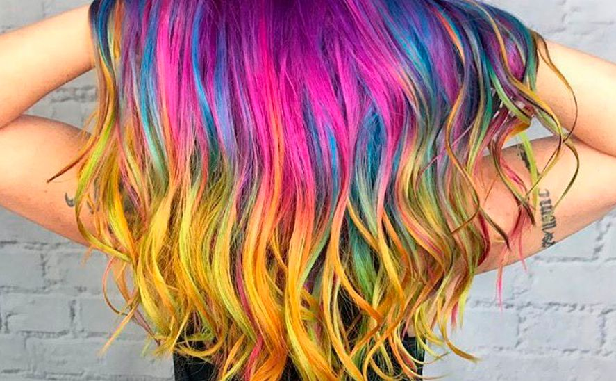 Haarfarbe andert sich bei temperatur