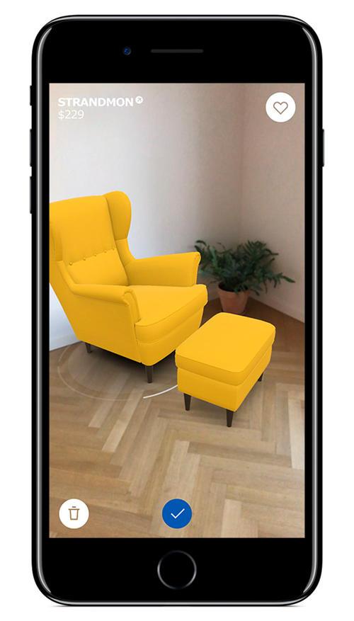 diese ikea app l sst dich m bel in deiner wohnung ausprobieren. Black Bedroom Furniture Sets. Home Design Ideas