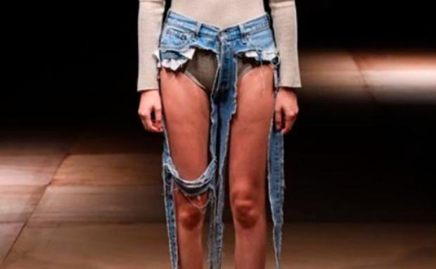 Never ever: Thong Jeans