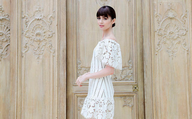 Lily Collins ist unser Style Crush