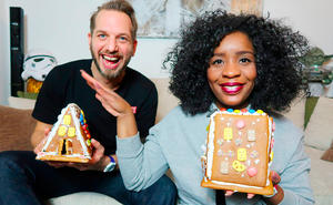 Mr. & Mrs. Clear im X-Mas-Fieber