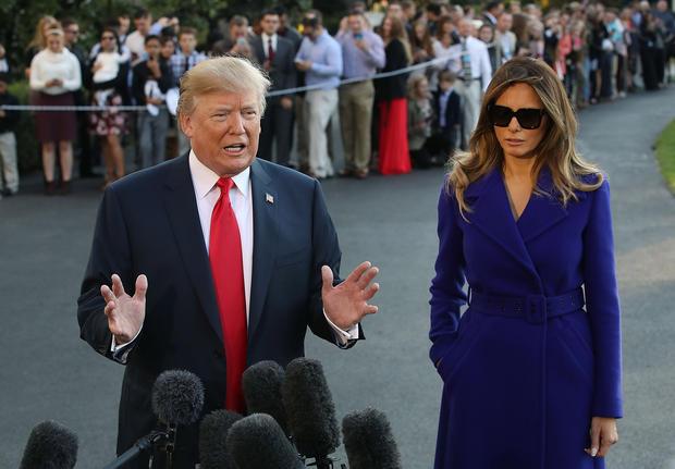 So reagiert Melania Trump auf die Trennungs-Gerüchte