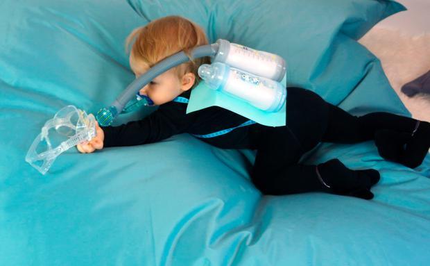 Faschingskostum Selber Machen Dein Baby Als Astronautin Oder Taucher