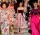 Trends der New York Fashion Week: Rosa in allen Varianten