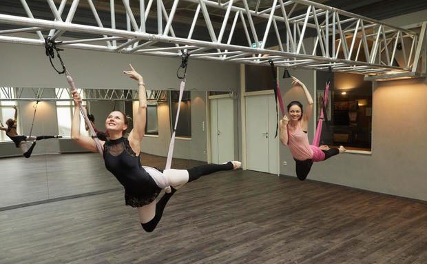 WOMAN testet: Bodyflying-Workout