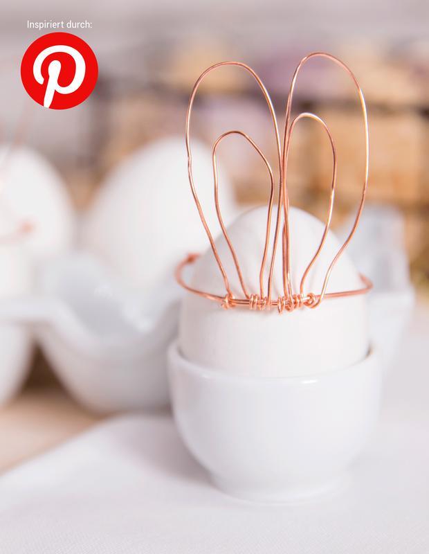 Wir probieren DIY-Trends von Pinterest: Hasenohren aus Draht