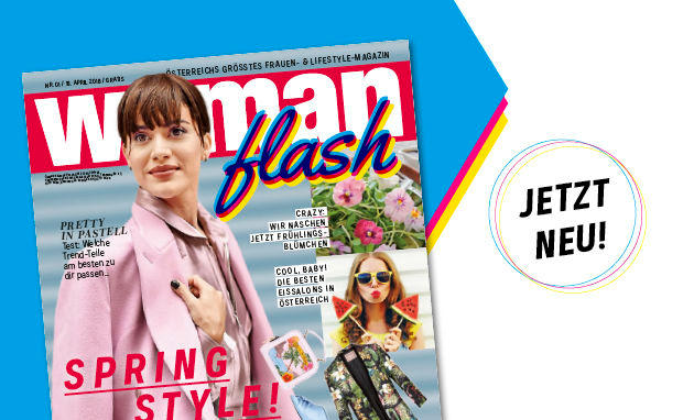 Das neue WOMAN FLASH